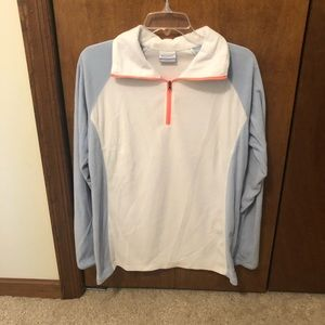 Columbia half zip pull over